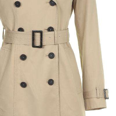 classic mood midi trench coat